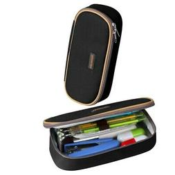 Pencil Case, Homecube Big Capacity Pen Bag Makeup Pouch Dura