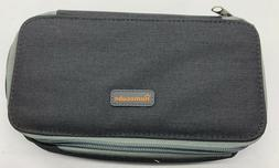 Homecube Pencil Case Canvas Makeup Bag Travel School Storage