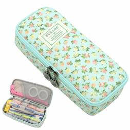 Pencil Case, Twinkle Club Cute Pen Case Zipper Bag Office Or