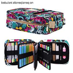 Pencil Case Holder Slot - Holds 202 Colored Pencils or 136
