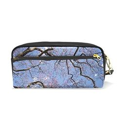 ColourLife Pencil Case Jacaranda Tree Zipper Pencil Holder P