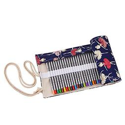 Pencil Case, TopRay Pencil Pouch Pencil Bag Pencil Box Roll