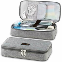 Homecube Pencil Case Big Capacity Pen Box School Desk Organi