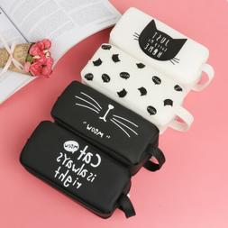 Cute Pencil Case Stationery Office & School Supplies Makeup