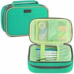 Pencil Case, Homecube Large Capacity Pen Bag Makeup Pouch Du