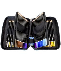 ColorIt Colored Pencil Set of 72 - Includes Premium Colored