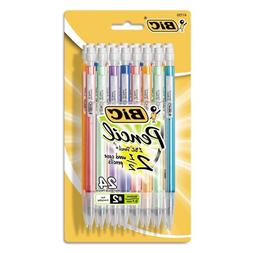 BIC Pencil Xtra Sparkle , Medium Point , 24-Count