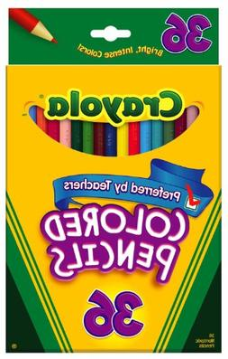Crayola 36ct Colored Pencils, Case of 12 Packs