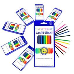 Color Swell Colored Pencils Bulk Pack 30 Sets 12 Count Assor