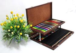 Multi Colored Pencils Kit of 92 Pieces, Color Pencils, Water