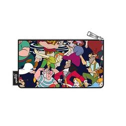 peter pan character print pencil case cosmetic