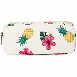 Pineapple Pen Pencil Case Coin Purse Pouch Cosmetic Makeup B