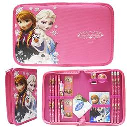 Disney Frozen Hot Pink Elsa Anna and Olaf Stationery Set Pac
