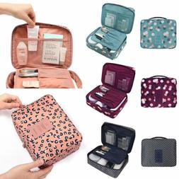 Portable Makeup Bag Travel Cosmetic Case Beauty Toiletry Sto