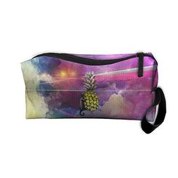 Mens Travel Cosmetic Pouch Bag Printed Makeup Bags Toiletry