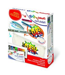 Pentel PTS Crayons Kit for Fabric and Pencil Case in Cotton