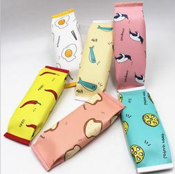 PU Creative Simulation Milk Cartons Pencil Case Kawaii Stati