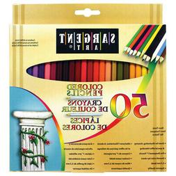 Sargent Art 50 Count Colored Pencils
