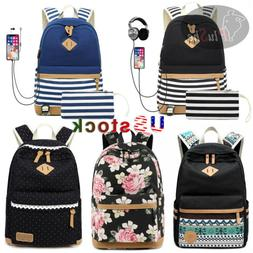 School Backpack For Girls Teens College Design Back Bag With