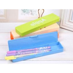 School Supplies Candy Color Stationery Pencil Case Storage B