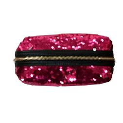 ZTL Women Girls Sequined Cosmetic Bag Storage Bag Pencil Cas