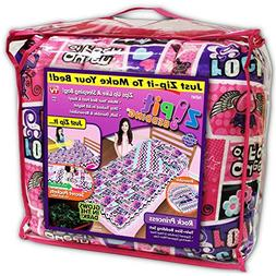 Zipit Bedding Set, Rock Princess- Deluxe Glow in the Dark Se