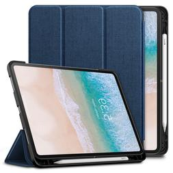 Shockproof Stand Case Cover with Apple Pencil Holder for iPa