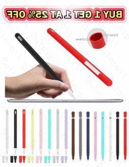 Silicone Case for Apple Pencil 1st 2nd Gen iPencil 2 1 Grip