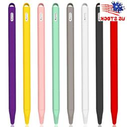 Silicone Pencil Case Cover Grip Holder Skin Pen Protective F