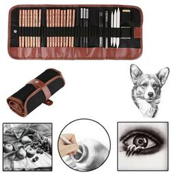 Sketch Drawing Pencil Set Art Supplies Artist Sketching Kits