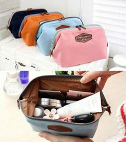 Small Travel Cosmetic Bag Girl Multifunction Makeup Pouch Pe
