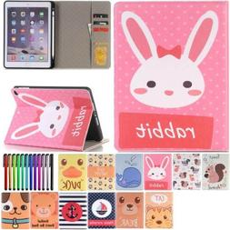 Smart Wake PU Leather Stand Case Cover for Apple iPad Models