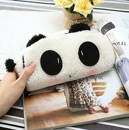 Soft Cute Plush Cosmetic Makeup Cartoon Storage Bag Pen Penc