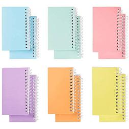 Spiral Notepad - 12-Pack Small Spiral Bound College Ruled No