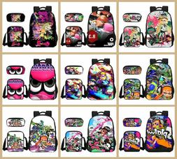 Splatoon 2 3D Print Backpacks/Pencil Case/Mochila Gifts for