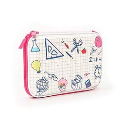Funny live Square EVA Pencil Case 3D Learning Tools Stereo P