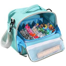 Togood Storage Tote Bag for Marker Pens Brush Pen Coloring P