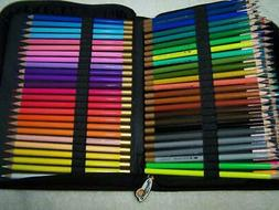Thornton's Art Supply Canvas Zippered Case 150 Multi Colored