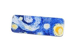 DAHO Tin Pencil Box With World Famous Arts for School, Offic