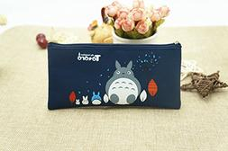 CJB Totoro My Neighbor School Coloring Pencil Cosmetics Case