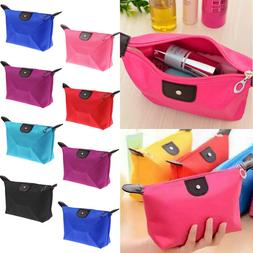 Travel Small Cosmetic Case Makeup Bags Toiletry Wash Zipper