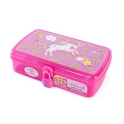 Hot Focus Treasure School Box with Lock – Unicorn Girls Pe