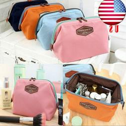 US Women's Cosmetics Make up Bag Wash Bag Pouch Small Clut