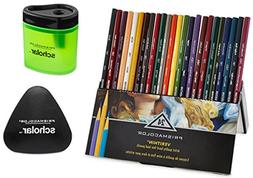 Prismacolor Verithin Colored Pencils, Set of 24 Assorted Col