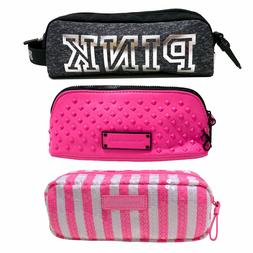 Victoria's Secret Makeup Bag Pencil Case Pouch Cosmetic Trav