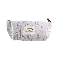 YJYdada New Vintage Flower Floral Pencil Pen Case Bag Cosmet