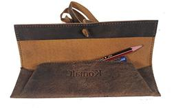 vintage rollup pencil case pouch