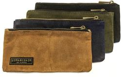 Readywares Waxed Canvas Pencil Case Pouch Set of 4