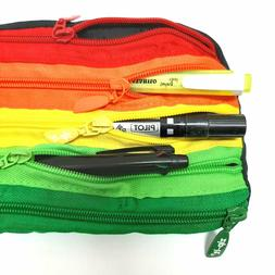 Rainbow Bag Multipurpose Pencil Clutch Pouch no handle - Ne
